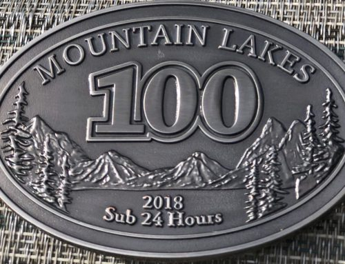 FOUR MINUTES with Bib#159 (Mountain Lakes 100 Race Report)