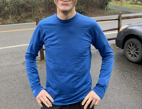 Janji M's Swift Tech Merino LS Mock-Neck Review