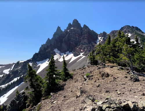 Three Fingered Jack Circumnavigtion