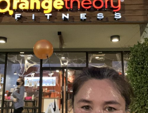 Working out with Orange Theory